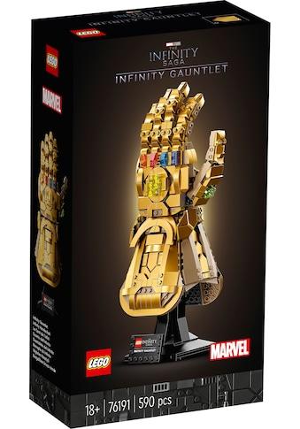 LEGO® Konstruktionsspielsteine »Infinity Handschuh (76191), Marvel Avengers Movie 4«,... kaufen
