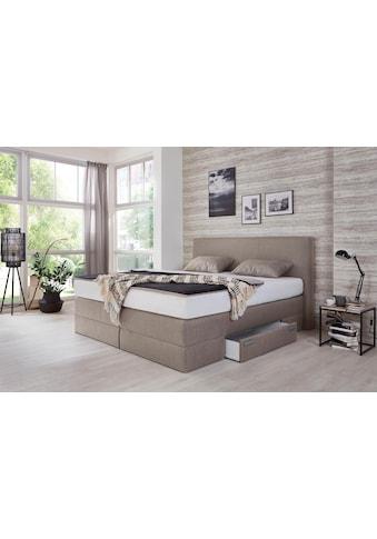 Westfalia Schlafkomfort Boxspringbett, mit Schubkästen und Zierkissen kaufen