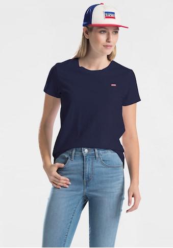 Levi's® T-Shirt »Perfect Tee«, mit kleiner Logostickerei kaufen