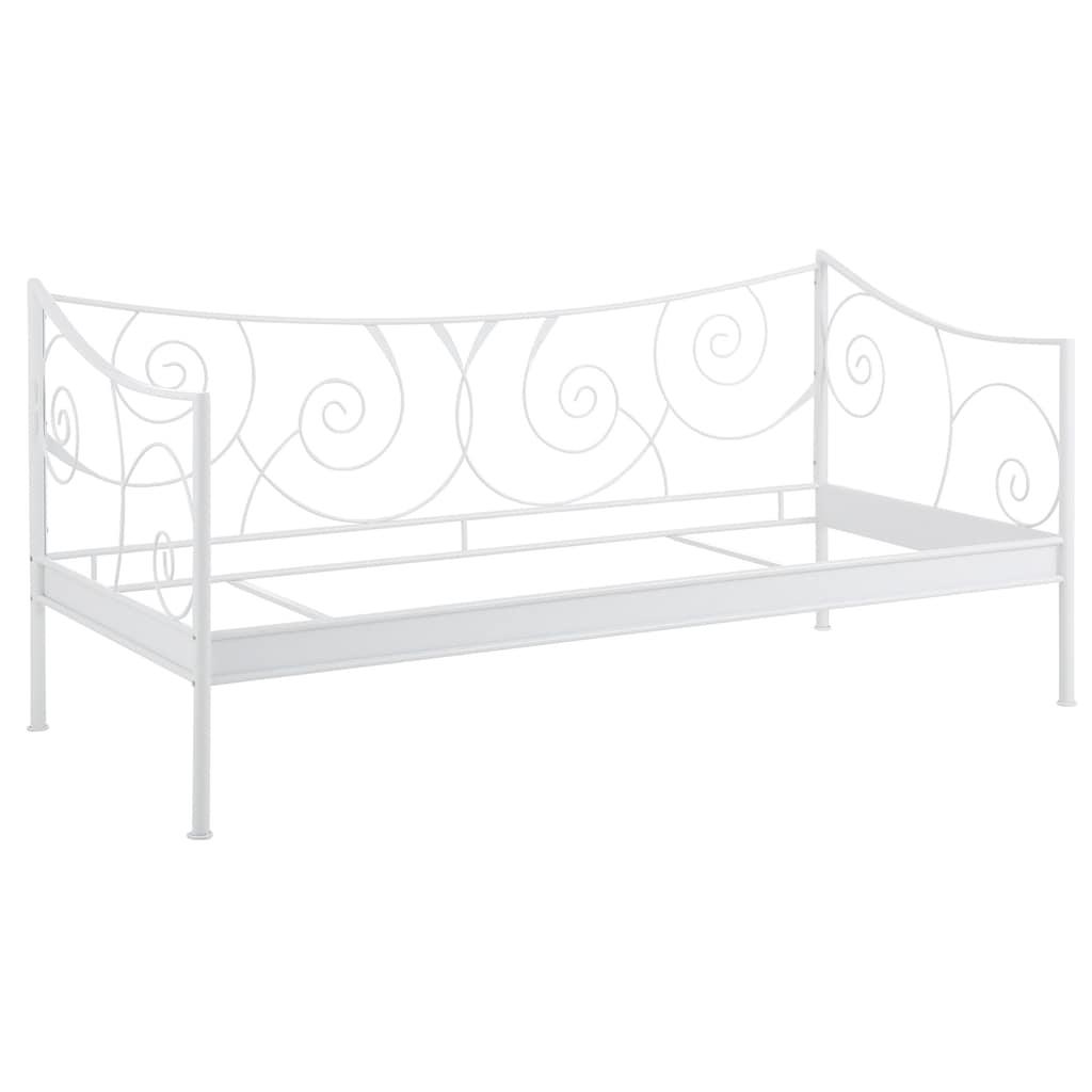 Home affaire Daybett »Princess«, aus schönem Metall und tollen Verschnörkelungen an den Bettseiten, in 2 verschiedenen Farben