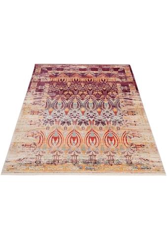 DELAVITA Teppich »Damian«, rechteckig, 5 mm Höhe, Mit Fransen, Wohnzimmer kaufen