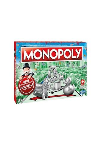 Familienspiel Monopoly, Hasbro, »Classic CH  -  Neue Edition« kaufen