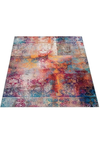 DELAVITA Teppich »Mateo«, rechteckig, 6 mm Höhe, Wohnzimmer kaufen