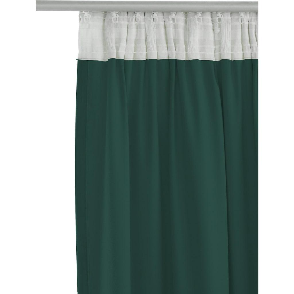 Leonique Vorhang »Velvet-Leonique«, Samt, inkl. Raffhalter