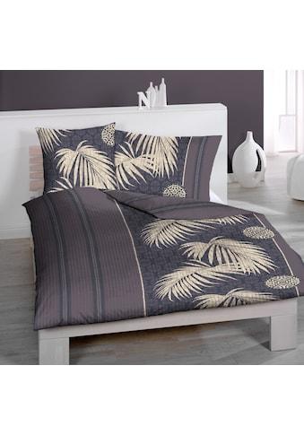 HOME FASHION Bettbezug »Palms B«, (1 St.) kaufen