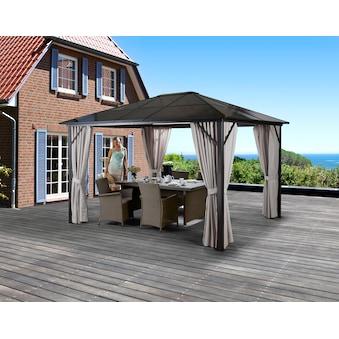 KONIFERA Pavillon mit Seitenteilen »Aruba«, BxL: 300x400 cm acheter
