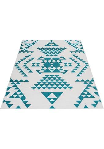 Home affaire Teppich »Leon«, rechteckig, 10 mm Höhe, Wohnzimmer kaufen