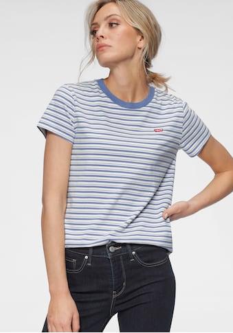 Levi's® T-Shirt »Perfect Tee«, mit Batwing-Logo kaufen