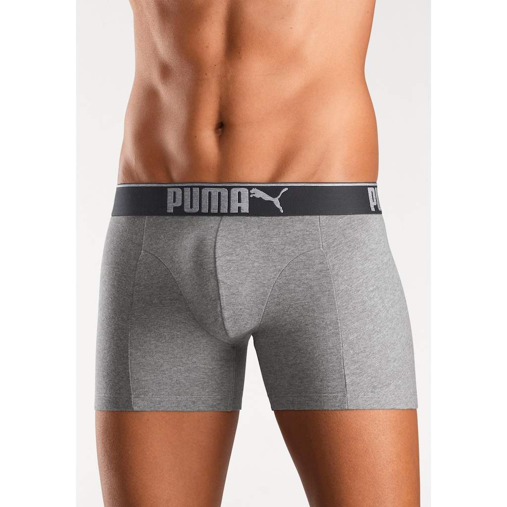 PUMA Boxer »Lifestyle Sueded Cotton Boxer 3P«