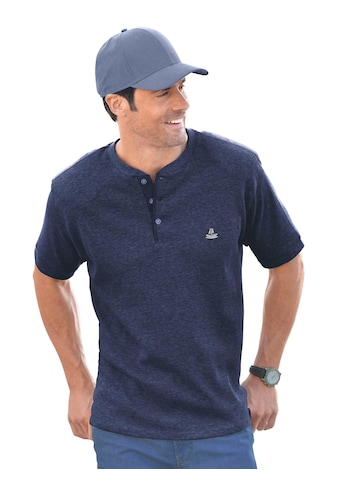 Marco Donati Kurzarm - Shirt in dreidimensionaler Waffelpikee - Struktur kaufen