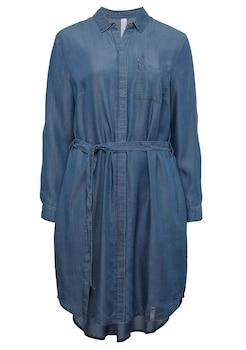 Taifun Kleid Gewirke »langes Abendkleid« Dark Teal