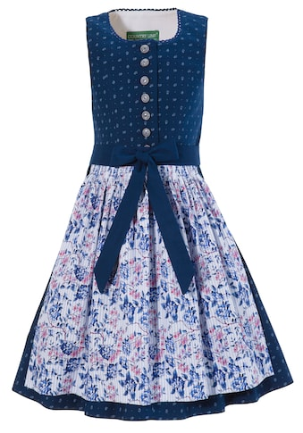 Country Line Dirndl 2tlg. Kinder im Blumenprint all - over kaufen