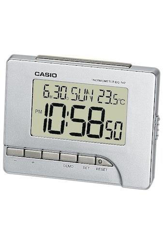CASIO Quarzwecker »DQ-747-8EF«, mit Thermometer (0°/+40°C) kaufen