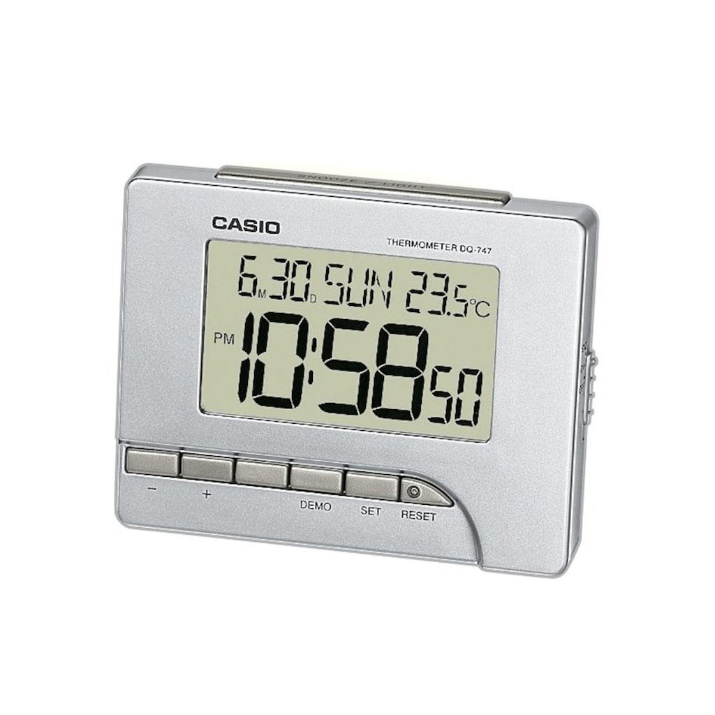 CASIO Quarzwecker »DQ-747-8EF«, mit Thermometer (0°/+40°C)