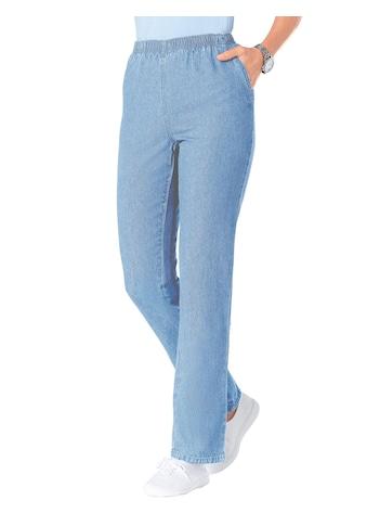 Classic Basics Jeans mit Rundum - Dehnbund kaufen