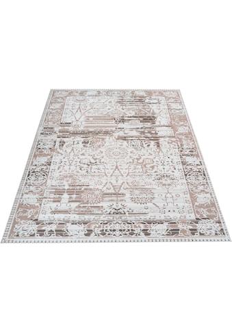 Home affaire Teppich »Arian«, rechteckig, 6 mm Höhe, Wohnzimmer kaufen