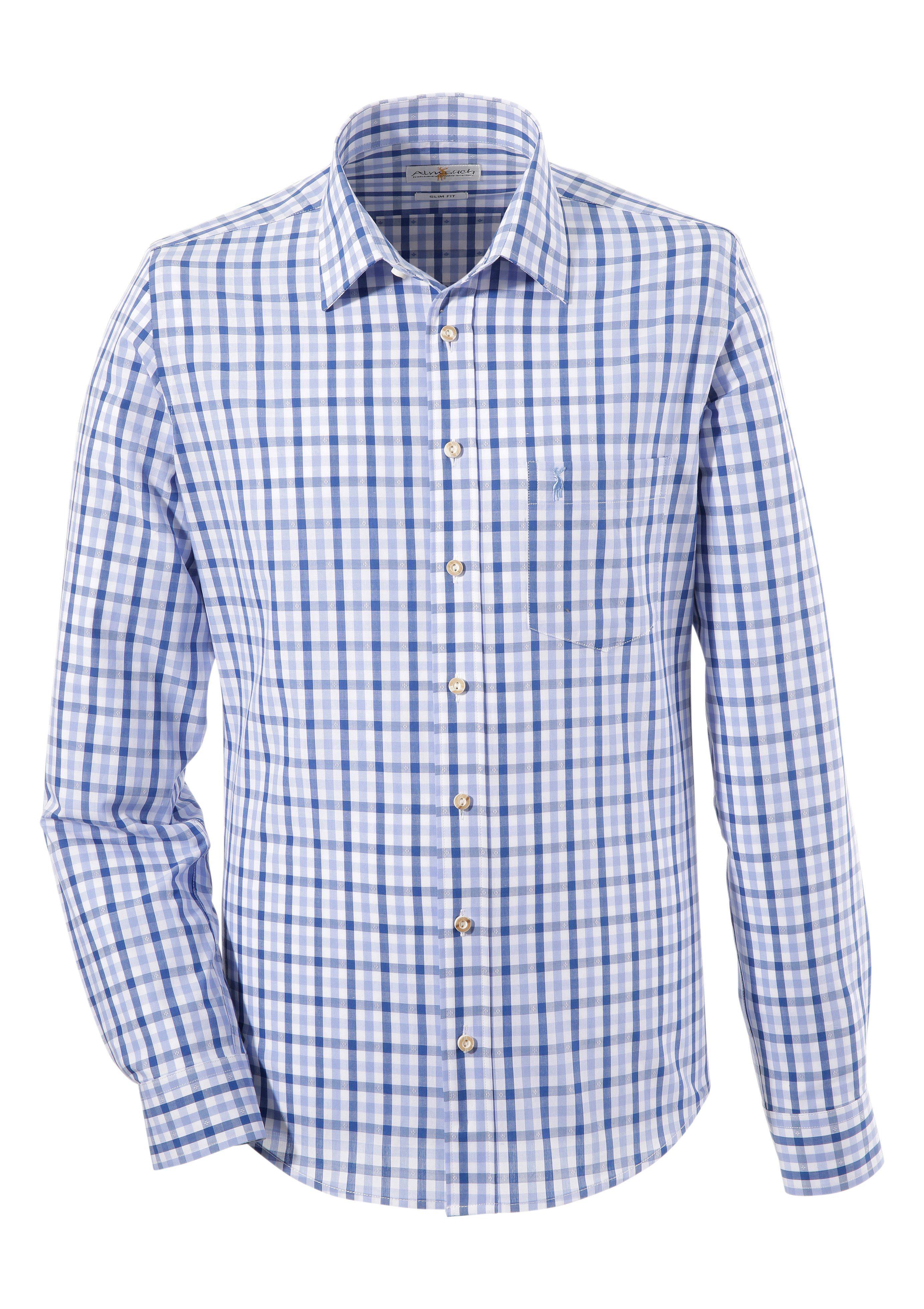 Image of Almsach Trachtenhemd in schmaler Form