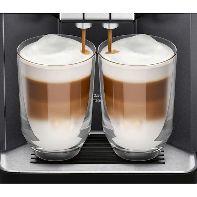 Kaffeevollautomat, Siemens, »EQ500 TQ505D09 schwarz«