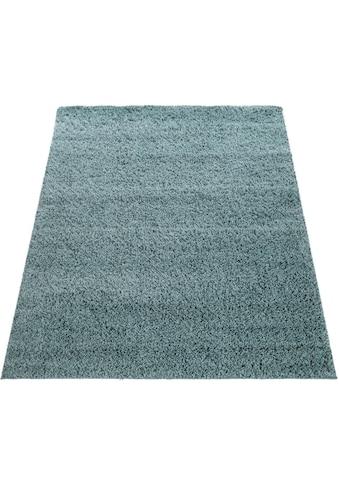 Paco Home Teppich »Twister 500«, rechteckig, 45 mm Höhe, Uni Hochflor Shaggy mit hoher... kaufen