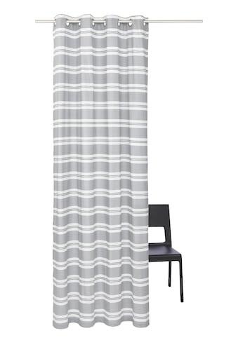 Vorhang, »Streifen«, my home Selection, Ösen 1 Stück kaufen