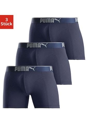 PUMA Boxer »Lifestyle Sueded Cotton Boxer 3P«, (3 St.) kaufen