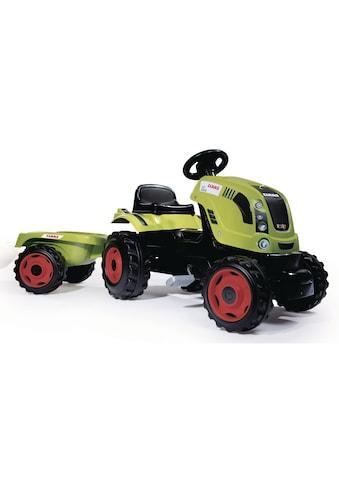 Smoby Trettraktor »Farmer XL Claas Arion 400«, mit Anhänger kaufen