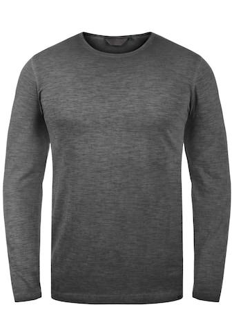 Solid Langarmshirt »Conner«, Longsleeve kaufen