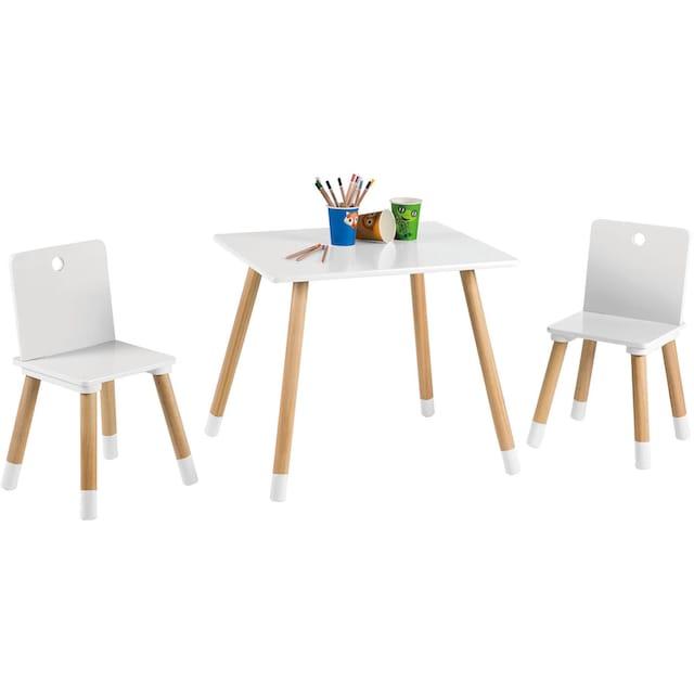 roba® Kindersitzgruppe »Kindersitzgruppe, weiss« (3-tlg)