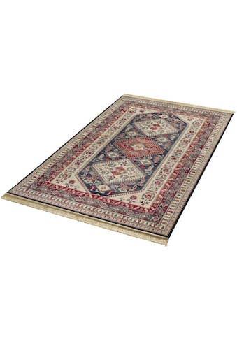 MINT RUGS Teppich »Cult«, rechteckig, 9 mm Höhe, Orient Optik, weiche Viskose mit Fransen, Wohnzimmer kaufen