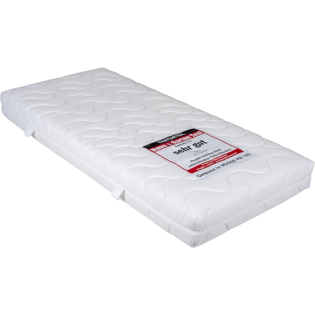 BeCo EXCLUSIV Komfortschaummatratze »Duo Comfort 20«, 20 cm cm hoch, (1 St.), Wendematratze mit zwei unterschiedlich festen Liegeseiten