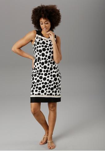 Aniston SELECTED Sommerkleid, im zeitlosen Punkte-Design - NEUE KOLLEKTION kaufen