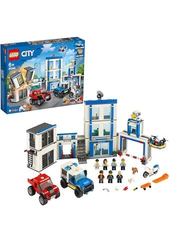 "LEGO® Konstruktionsspielsteine ""Polizeistation (60246), LEGO® City"", Kunststoff, (743 - tlg.) kaufen"