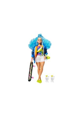 Barbie Spielfigur »Extra mit blauen Haaren und Skateboard« kaufen