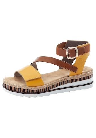 Rieker Sandalette, in aktuellem Look kaufen