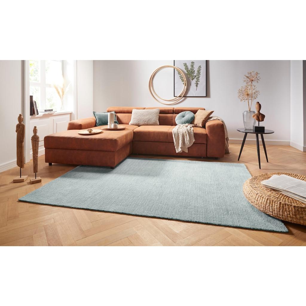 MINT RUGS Teppich »Supersoft«, rechteckig, 10 mm Höhe, besonders weich durch Microfaser, Wohnzimmer