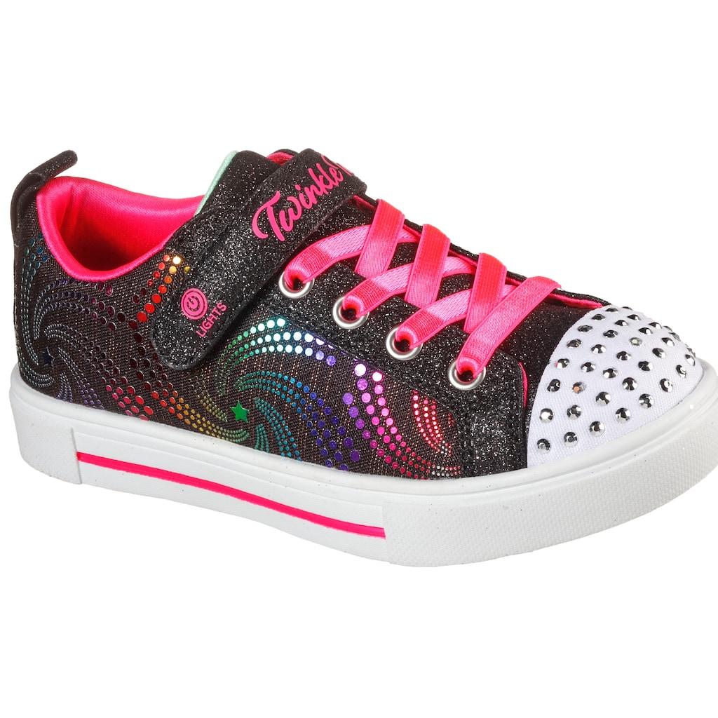 Skechers Kids Sneaker »TWINKLE SPARKS«, mit blinkender Schuhspitze
