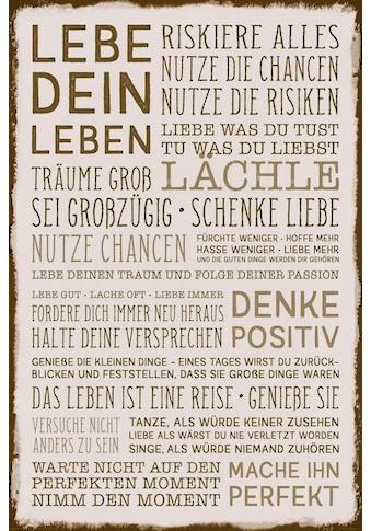 Reinders! Deco-Panel »Denke positiv« kaufen