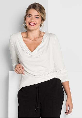 Sheego Langarmshirt kaufen