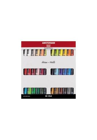 AMSTERDAM Acrylfarbe »Standard Serie Set 36 x 20 ml« kaufen
