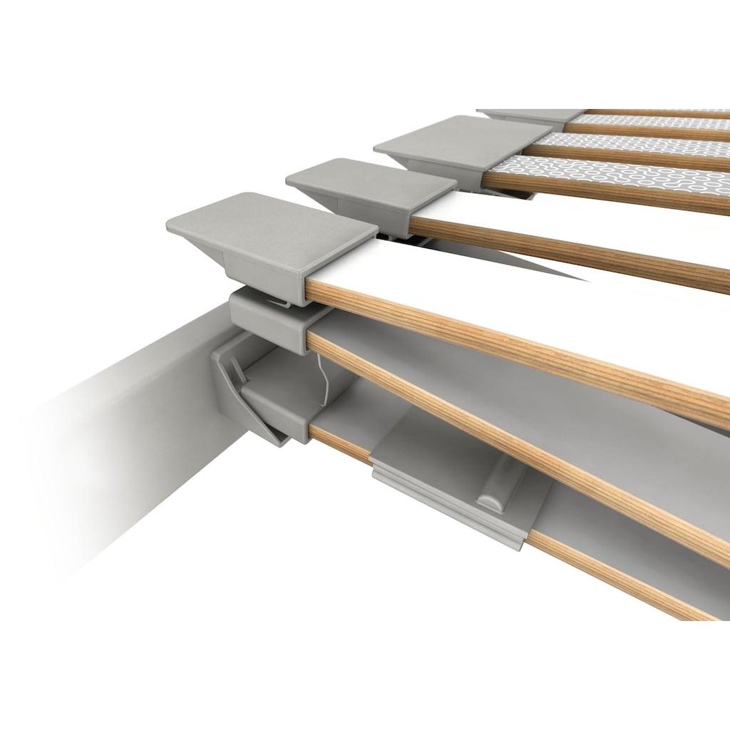 Schlaraffia Lattenrost »Platin 28 Plus KF«, 28 Leisten, Kopfteil manuell verstellbar, 5 Ergonomie-Zonen mit interaktiver Dreifachfederung