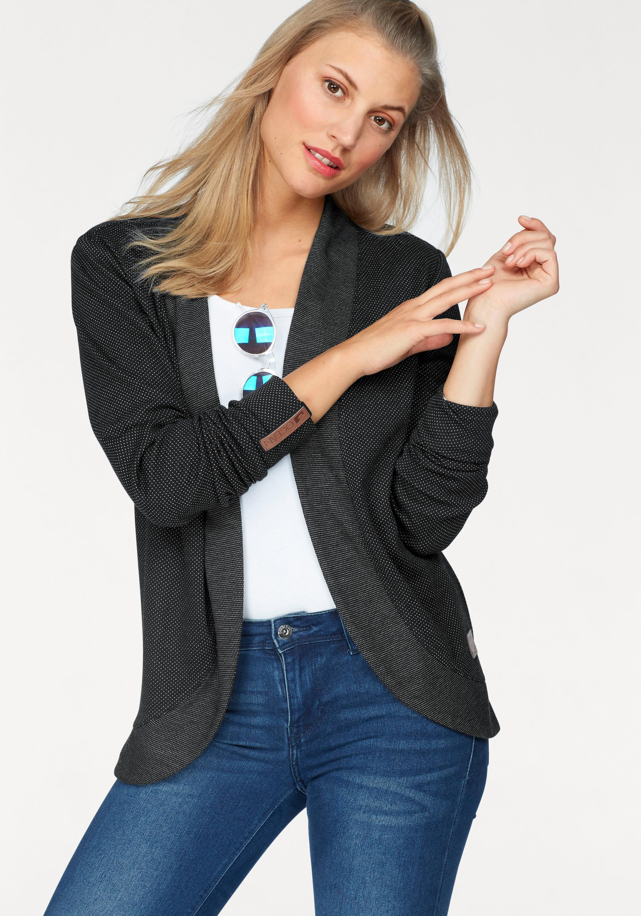 Schneider Sportswear DAISY Damen Sweatjacke Jacke Hoodie Baumwolle weiß 38-42