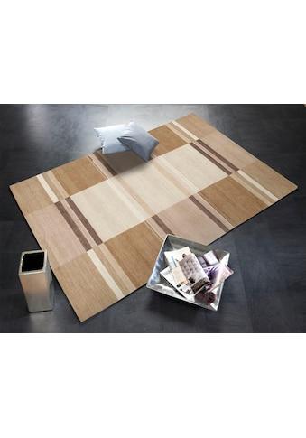 OCI DIE TEPPICHMARKE Teppich »Sensation Soya«, rechteckig, 6 mm Höhe, handgeknüpft, Wohnzimmer kaufen