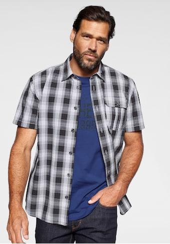 Man's World Kurzarmhemd (Set, 2 tlg., mit T - Shirt) acheter