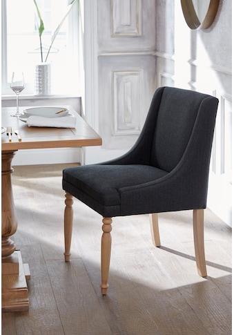 Guido Maria Kretschmer Home&Living 4-Fussstuhl »Davit«, mit schöner Sitzpolsterung und... kaufen