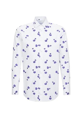 seidensticker Businesshemd »Regular«, Regular Langarm Kentkragen Floral kaufen