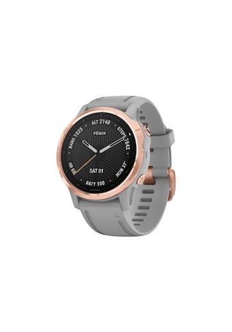Garmin Smartwatch »fenix 6S Sapphire Schwarz/Silberfarben«,  kaufen