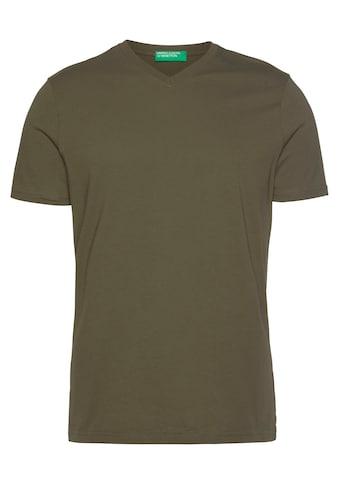 United Colors of Benetton T-Shirt, unifarben kaufen