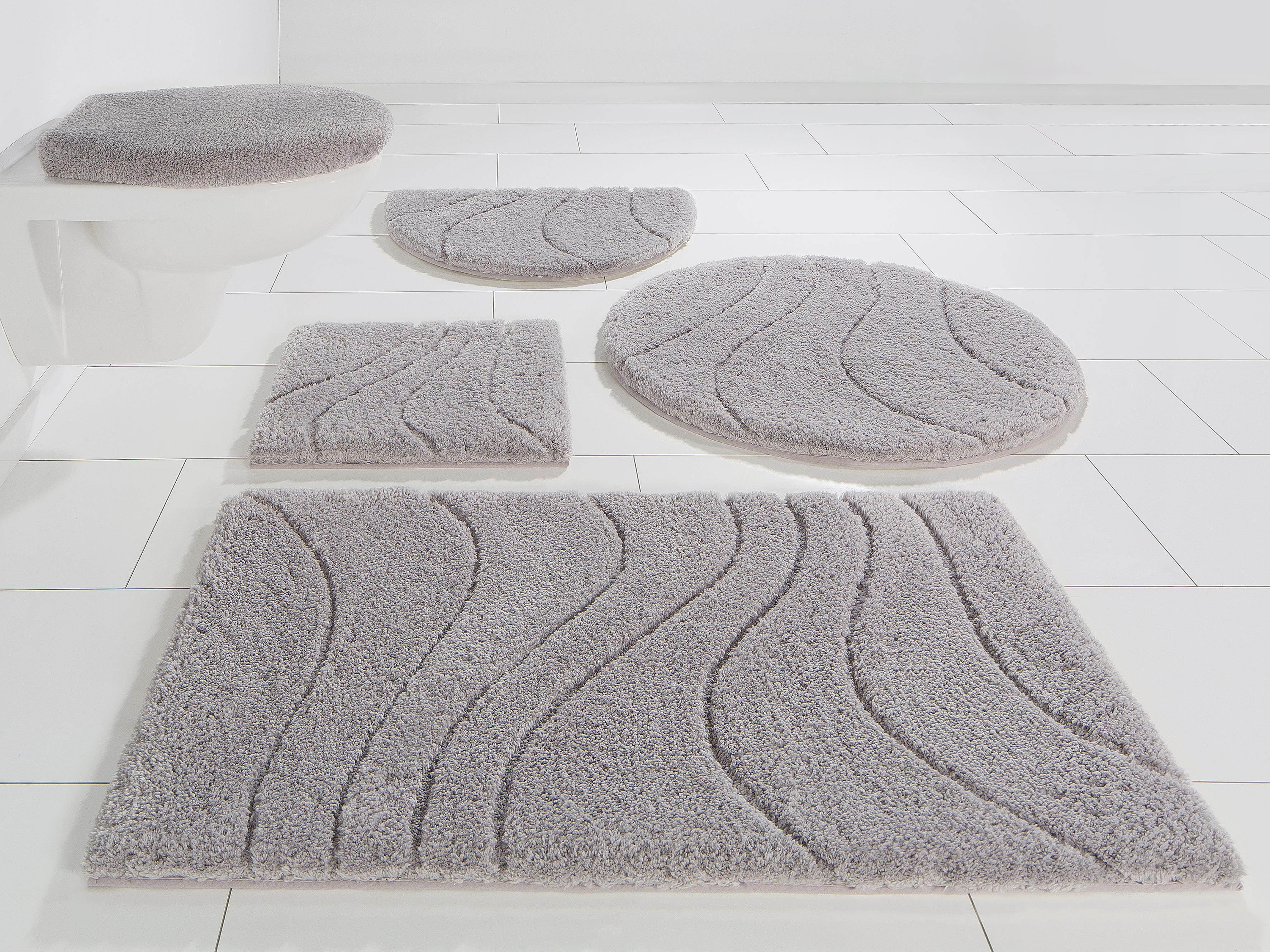 Image of Badematte »Lola«, Home affaire, Höhe 22 mm, rutschhemmend beschichtet, fussbodenheizungsgeeignet