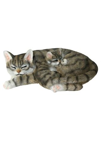 Casa Collection by Jänig Tierfigur »Katze mit jungen liegend« kaufen