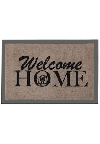 HANSE Home Fussmatte »Welcome Home«, rechteckig, 7 mm Höhe, Fussabstreifer,... kaufen